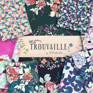 "新入荷 Art Gallery Fabrics ""Trouvaille"""