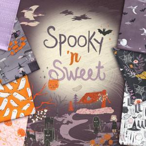 ハロウィン生地 Art Gallery Fabrics Spooky'n Sweet 入荷