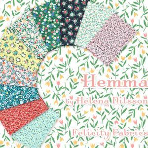 愛され花柄 Felicity Fabrics の Hemma Collection 入荷