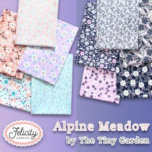 花柄USAコットン Felicity Fabrics - Alpine Meadow