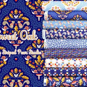 """オーガニックコットン Windham Fabrics """"Sweet Oak"""""""