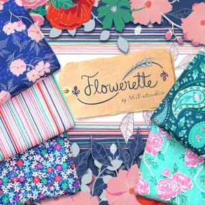 "USA花柄生地 Art Gallery Fabrics ""Flowerette"" 入荷"