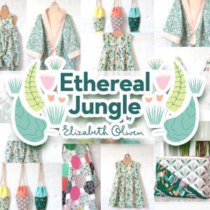 新入荷 Cloud9 Fabrics Ethereal Jungle Collection