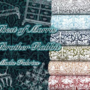 Moda Fabrics ウィリアムモリス・ブラザーラビット