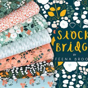 """オーガニックコットン Cloud9 Fabrics """"Stockbridge"""" 入荷"""