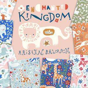 """オーガニックコットン Birch Fabrics """"Enchanted Kingdom"""""""