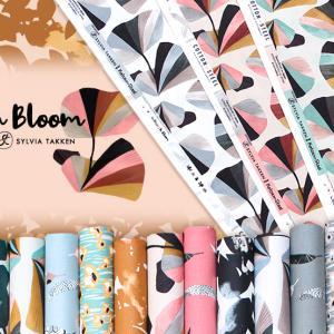 オランダ発デザイン COTTON+STEEL In Bloom by Sylvia Takken