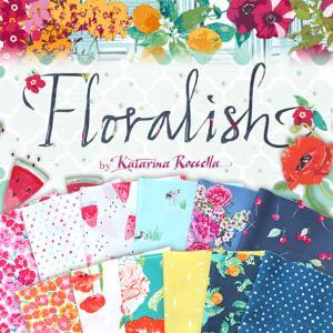 """入荷しました Art Gallery Fabrics """"Floralish"""" お盆も通常営業中!"""