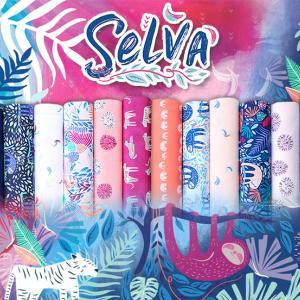 ジャングルの動物柄 Art Gallery Fabrics Selva 入荷