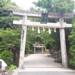 6月6日玉作湯神社