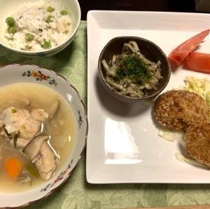 家庭料理は、食品比率に沿っていれば、簡単に作れるもので良い!