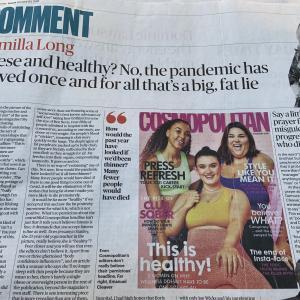 コロナは肥満だと、重症化しやすい。それを身をもって証明しても、対策を取らないボリスへの辛口記事