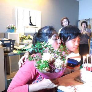 スペシャルな一日昨日は私がお母さん10歳になりました。たま 昨日は鶴瀬の...