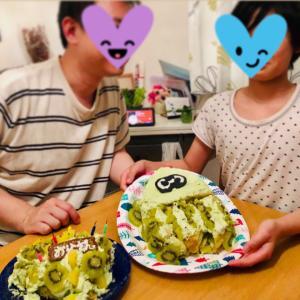 サプライズ成功⭐︎(サプライズケーキ作り5)