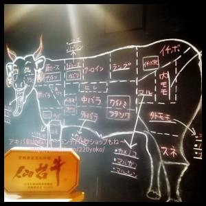 【秋葉原】カウンター焼肉×仙台牛!おひとり様でも気軽にふらりOK!
