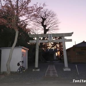 吉見町 照稲神社 から 神明神社へ