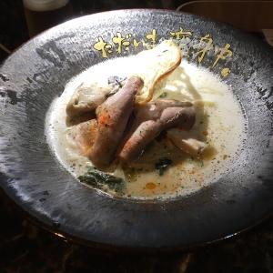 【今週のラーメン3912】 ただいま変身中 (東京・中野) 牡蠣ラーメン(鯛出汁) + クラフトビールSORACHI 1984 〜いきなり斬新なフレンチの風!来るか中野に令和のラーメンニューウェーブ!