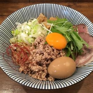 【今週のラーメン3844】 俺の麺 春道 (東京・西武新宿) 特製冷やし担々まぜそば + サッポロビール黒生 〜楽しさ本物!混ぜて混ぜて混ぜ尽くせ!ありそでなさそな・・・冷やし✖️担々麺✖️汁なし!の三位一体の涼味!