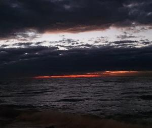 12月13日 朝釣は「どんより雲空」