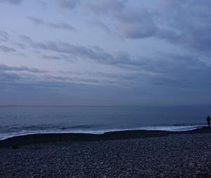 200407 釣行64 鳥山出るも無視される西湘サーフ