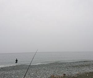 200606 濁りとゴミ拾いの夕方釣行