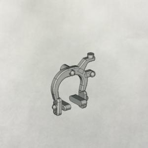 縮尺モデル  キャリパーブレーキ