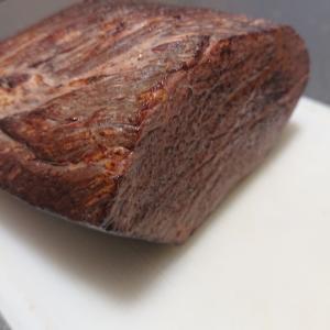 【おうちゴハン】ローストビーフで贅沢ステーキを♪