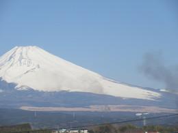富士山の野焼き