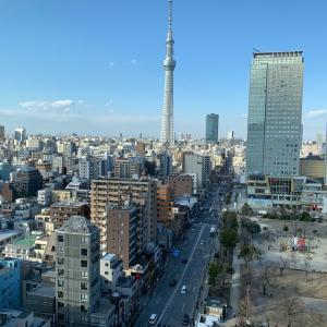 東京スカイツリーがよ〜く見えます!!
