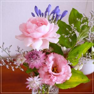 パステルブーケ【お花の定期便始めてみました】