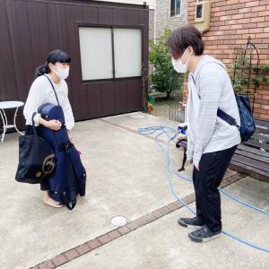 村田先生と新井先生の初顔合わせ