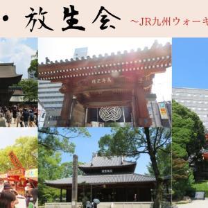 博多・放生会~JR九州ウォーキング2019秋~