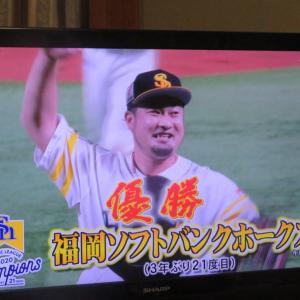 リーグ優勝! 福岡ソフトバンクホークス!