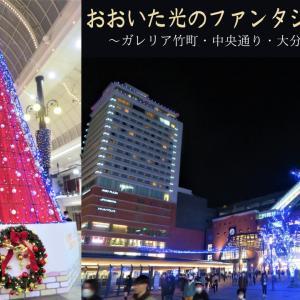 おおいた光のファンタジー2020~ガレリア竹町・中央通り・大分駅・若草公園編~