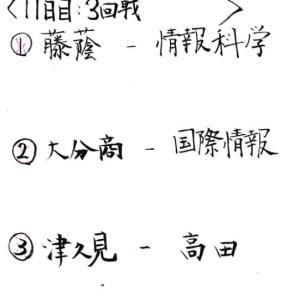 ※雨天順延【高校野球 大分⚾】2021夏大分大会11日目(3回戦)~