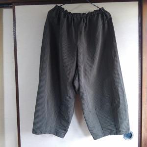 袴で手縫いのバルーンパンツ