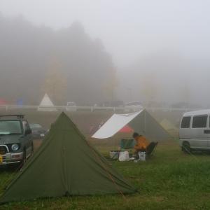 ツインリンクもてぎでキャンプ 2日目(KCBMとレース観戦)