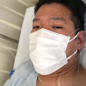 前十字靭帯再建手術(半月板縫合も) 術当日(入院2日目)