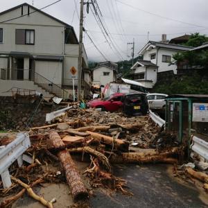 西日本豪雨災害 8月7日