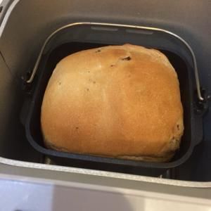ホームベーカリーでパン焼いたよ