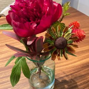 花のサブスク、メインは芍薬