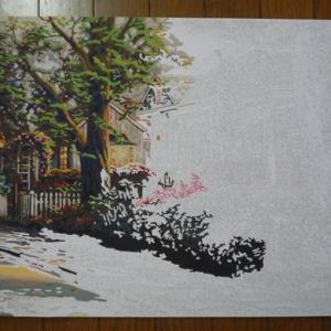 【PBN】アクリル絵の具塗り絵 Hometown Pride(10)