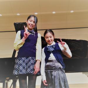中学受験を終えて、ピアノに戻ってきた中学生♪