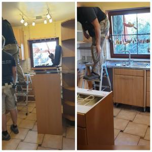 お台所を新しくします❗