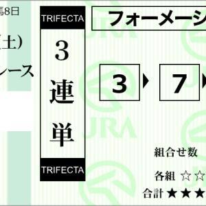 ★公開~購入馬券!★POG指名馬の3番シルヴェリオが勝つ!★阪神3R完結予想