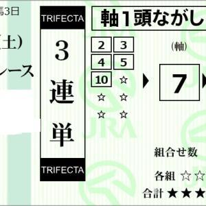 ★公開~購入馬券!★7番シャドウハンターを敢えて2着固定!★京都7R完結予想