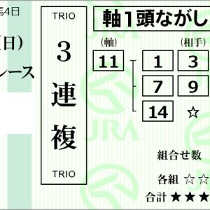 ★公開~購入馬券!★まだ成長途上も良血馬ディープキングに期待!★京都5R完結予想