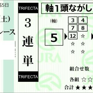 ★公開~購入馬券!★11月16日(土)★東京5R完結予想