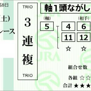 ★公開~購入馬券!★5番オーシャンバローズ&マーフィー騎手に期待!★中山3R完結予想