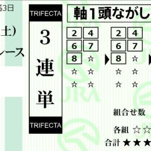 ★公開~購入馬券!★敢えてライルは3着固定!★東京8R完結予想